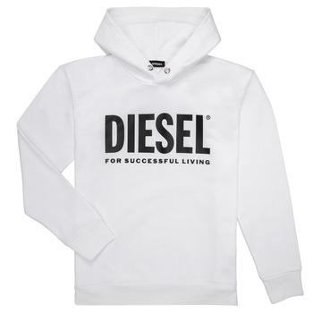 textil Pojkar Sweatshirts Diesel SDIVISION LOGO Vit