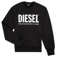 textil Pojkar Sweatshirts Diesel SCREWDIVISION LOGO Svart