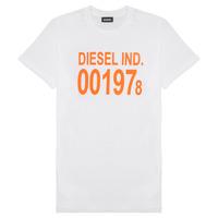 textil Barn T-shirts Diesel TDIEGO1978 Vit