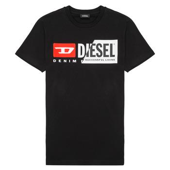 textil Barn T-shirts Diesel TDIEGOCUTY Svart