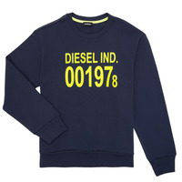 textil Barn Sweatshirts Diesel SGIRKJ3 Blå