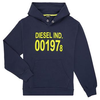 textil Barn Sweatshirts Diesel SGIRKHOOD Blå