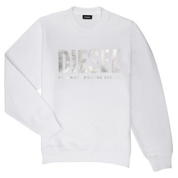 textil Flickor Sweatshirts Diesel SANGWX Vit