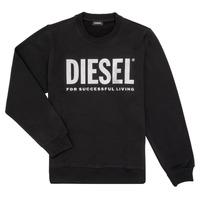 textil Flickor Sweatshirts Diesel SANGWX Svart
