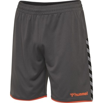 textil Herr Shorts / Bermudas Hummel Short  hmlAUTHENTIC Poly gris foncé