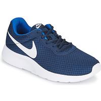 Skor Herr Sneakers Nike TANJUN Blå / Vit