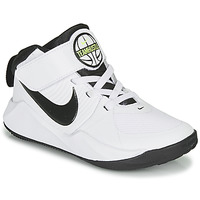 Skor Pojkar Basketskor Nike TEAM HUSTLE D 9 PS Vit / Svart