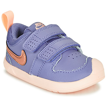 Skor Flickor Sneakers Nike PICO 5 TD Violett / Rosa