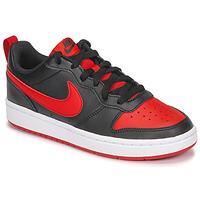 Skor Barn Sneakers Nike COURT BOROUGH LOW 2 GS Svart / Röd