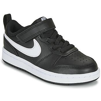 Skor Barn Sneakers Nike COURT BOROUGH LOW 2 PS Svart / Vit
