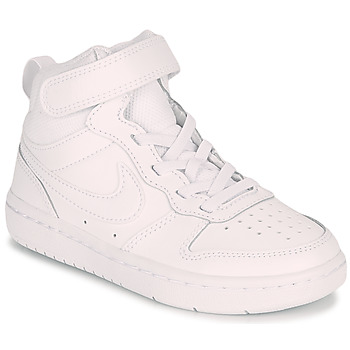 Skor Barn Höga sneakers Nike COURT BOROUGH MID 2 PS Vit