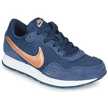 Skor Barn Sneakers Nike MD VALIANT GS Blå / Mässingsfärg