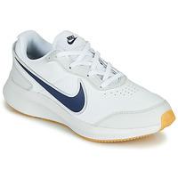 Skor Pojkar Sneakers Nike VARSITY LEATHER GS Vit / Blå