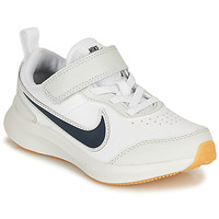 Skor Pojkar Sneakers Nike VARSITY LEATHER PS Vit / Blå