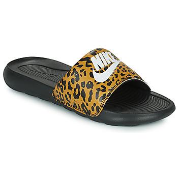 Skor Dam Flipflops Nike Nike Victori Print (Name Not Legal) Brun / Svart