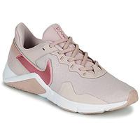 Skor Dam Träningsskor Nike Legend Essential 2 Beige / Rosa