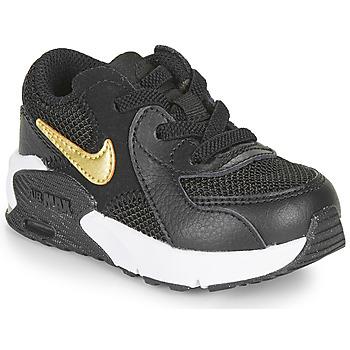 Skor Barn Sneakers Nike AIR MAX EXCEE TD Svart / Guldfärgad
