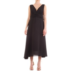 textil Dam Långklänningar Fly Girl 9845-01 Nero