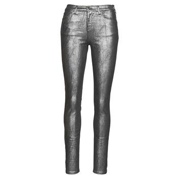 textil Dam 5-ficksbyxor Emporio Armani 6H2J20 Grå / Silverfärgad