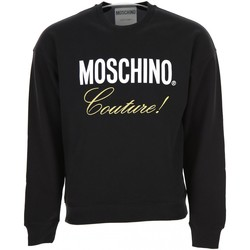 textil Herr Sweatshirts Moschino ZA1719 Svart