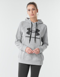 textil Dam Sweatshirts Under Armour RIVAL FLEECE LOGO Grå