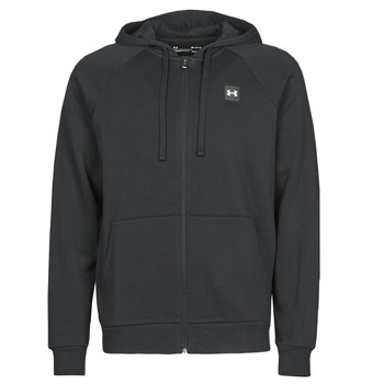 textil Herr Sweatshirts Under Armour UA RIVAL FLEECE FZ Svart