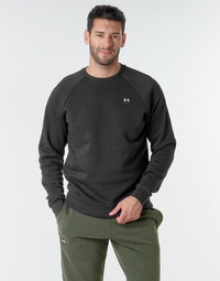 textil Herr Sweatshirts Under Armour UA RIVAL FLEECE CREW Svart