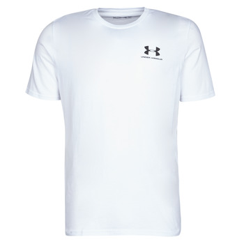 textil Herr T-shirts Under Armour SPORTSTYLE LEFT CHEST SS Vit