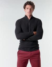 textil Herr Tröjor Esprit COWS STR HZ Svart