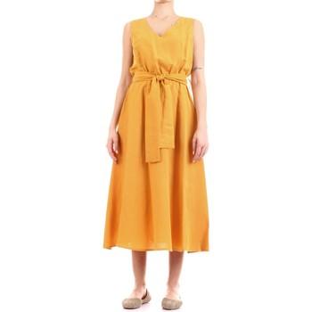 textil Dam Långklänningar Fly Girl 9890-02 Giallo