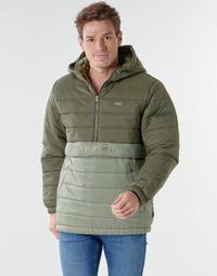 textil Herr Täckjackor Vans CARLTON PUFFER ANORAK II Grön