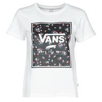 textil Dam T-shirts Vans BOXED IN BOXY Vit