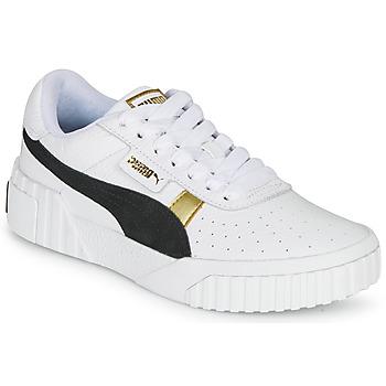 Skor Dam Sneakers Puma CALI VARSITY Vit / Svart