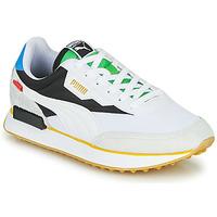 Skor Sneakers Puma FUTURE RIDER Unity Collection Vit / Svart