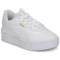 Skor Flickor Sneakers Puma CALI SPORT PS Vit