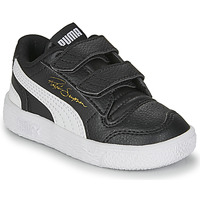Skor Barn Sneakers Puma RALPH SAMPSON LO INF Svart / Vit