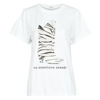 textil Dam T-shirts Replay W3509D Vit