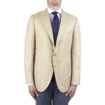 textil Herr Jackor & Kavajer Cesare Attolini S20MA43 Yellow