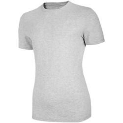 textil Dam T-shirts 4F TSM003 Gråa