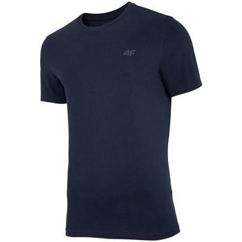 textil Herr T-shirts 4F TSM003 Svarta