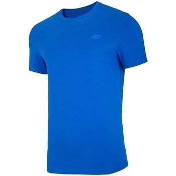 textil Herr T-shirts 4F TSM003 Blå