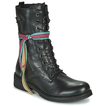Skor Dam Boots Felmini COOPER Svart