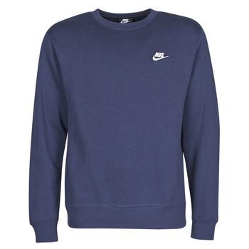textil Herr Sweatshirts Nike M NSW CLUB CRW BB Blå