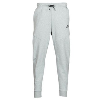 textil Herr Joggingbyxor Nike M NSW TCH FLC JGGR Grå
