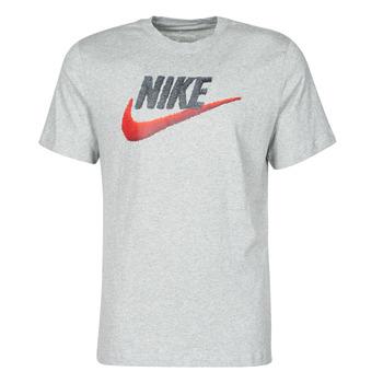textil Herr T-shirts Nike M NSW TEE BRAND MARK Grå