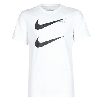 textil Herr T-shirts Nike M NSW SS TEE SWOOSH PK 2 Vit