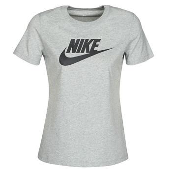 textil Dam T-shirts Nike W NSW TEE ESSNTL ICON FUTUR Grå