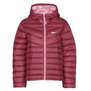 textil Dam Täckjackor Nike W NSW WR LT WT DWN JKT Bordeaux
