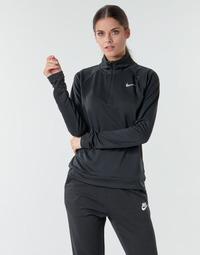 textil Dam Långärmade T-shirts Nike W NK PACER HZ Svart