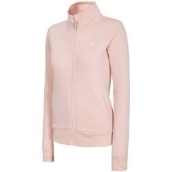 textil Dam Sweatshirts 4F BLD003 Rosa